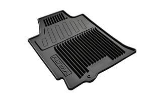 View Crew Cab All-Season Floor Mats (Rubber / 4-piece / Black) Full-Sized Product Image