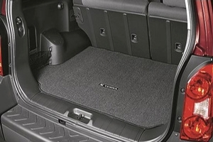 Carpeted Cargo Mat, Charcoal. Carpeted Cargo Mat image for your Nissan
